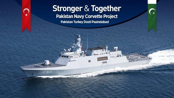 Turkey won de Pakistani tender to deliver 4 Milgem corvettes - WAFF